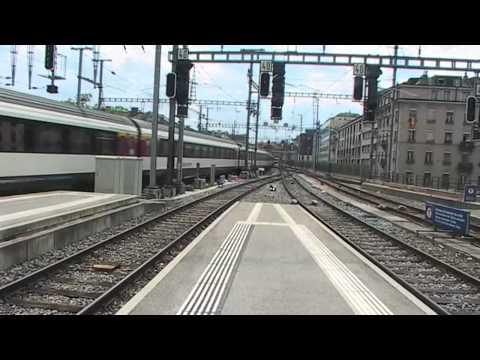 Gare de Genève Cornavin le 20.06.2012