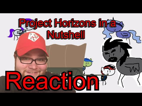 [Blind Reaction] JPL reacts to: Fallout Equestria Project Horizons in a nutshell