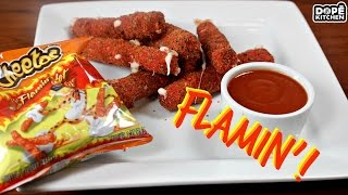 COPYCAT HOT CHEETOS MOZZARELLA STICKS!!! EASIEST RECIPE!!