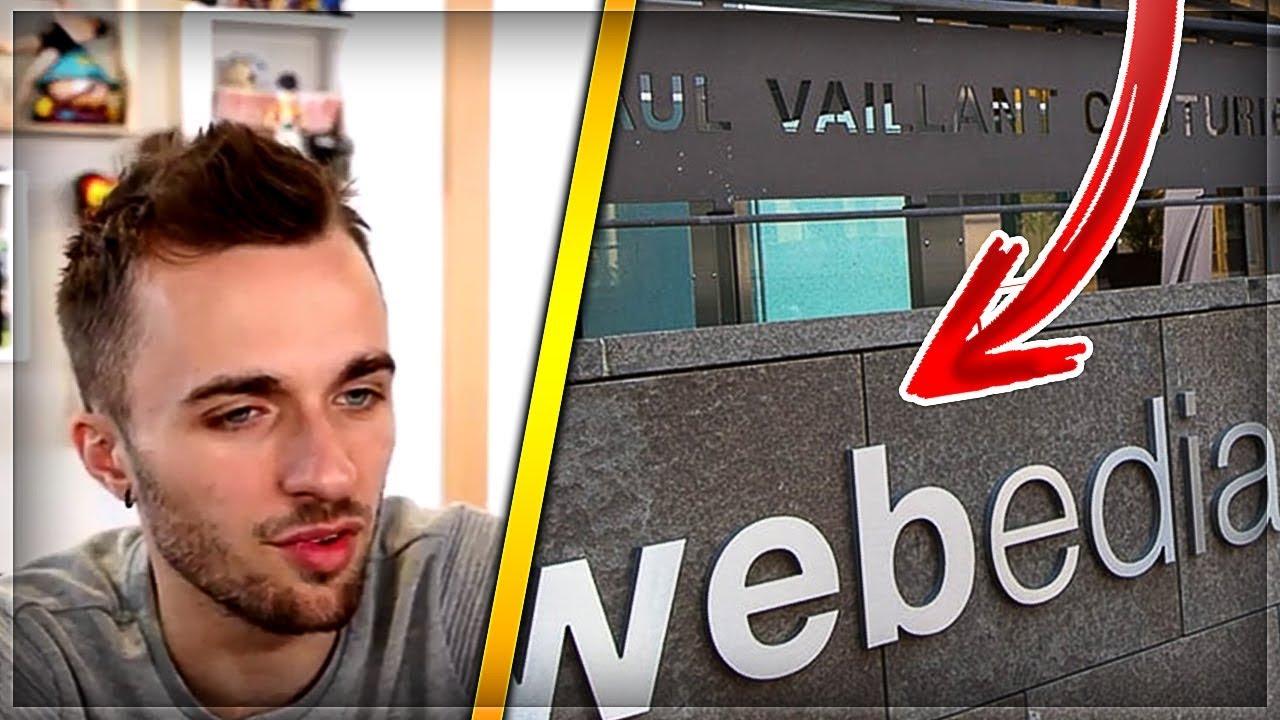 Squeezie minvite À tourner dans ses studios À paris ! webedia