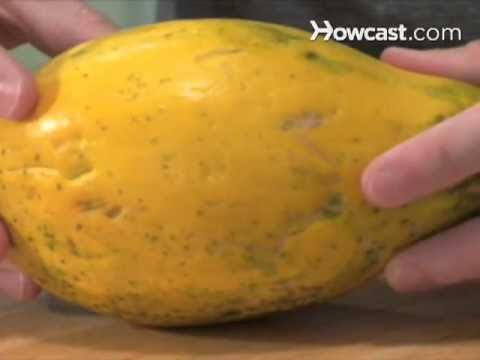 How to tell if a papaya is ripe youtube ccuart Gallery
