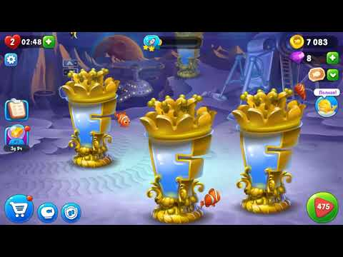 Let's Play FISHDOM =) New Event And Levels