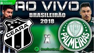 Ceará 2x2 Palmeiras | Santos 1x2 Internacional | Brasileirão 2018 | Parciais Cartola FC | 11ª Rodada