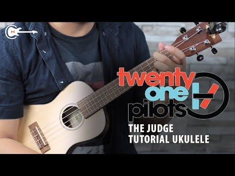Twenty One Pilots - THE JUDGE UKULELE TUTORIAL