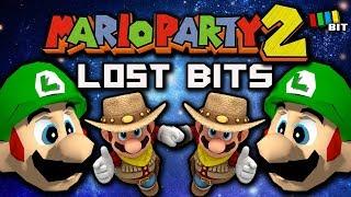 Mario Party 2 LOST BITS | Unused Content & Debug Menu [TetraBitGaming]