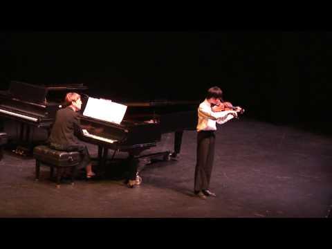 Eric Chang Violin Recital at  El Paso