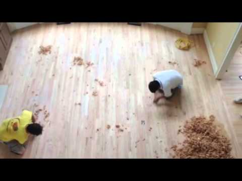 Atlanta Hand Scraped And Distressed Refinishing Youtube