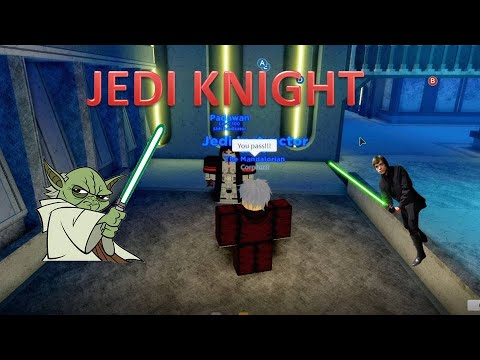 Becoming A Jedi Knight In Ilum 2 Roblox Star Wars Youtube