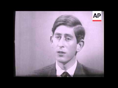 SYND 25-06-69 THE PRINCE OF WALES SPEAKS TO REPORTERS IN AN INTERVIEW