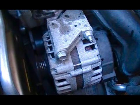 Replace a 2008 Chevrolet Malibu alternator with a 22L or 24L Ecotec engine  YouTube