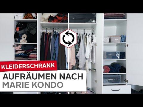 Kleiderschrank Organisieren Ausmisten Aufräumen Nach
