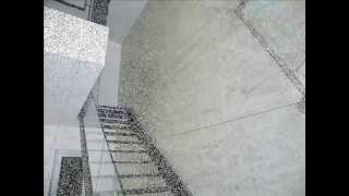 אקזוטק בטון –חיפוי פנימי דקורטיבי  נוה צדק , תל אביב .