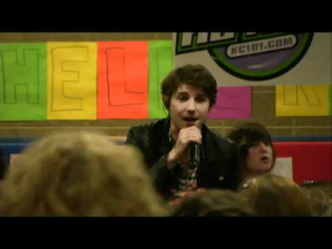 Tolland Middle School Welcomes Hot Chelle Rae