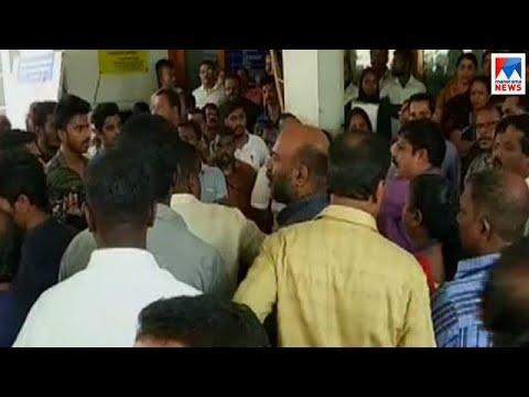 Conflict in Trivandrum corporation led to a dispute between CPM and BJP