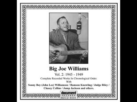 His Spirit Lives On - Big Joe Williams