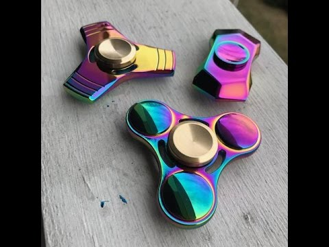 Thumbnail: UNBOXING AN AWESOME RAINBOW FIDGET SPINNER!!!