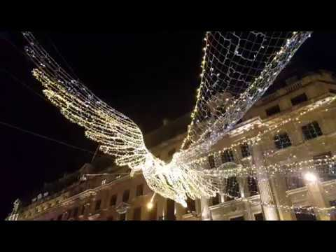 christmas angel on regent street
