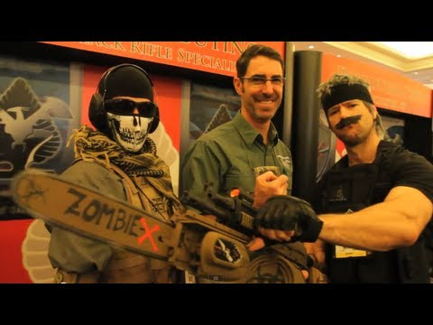 SHOT SHOW with Snake, Ghost, Gunny & Scaar