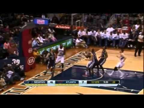 Nick Calathes NBA ROOKIE OF THE MONTH HIGHLIGHTS