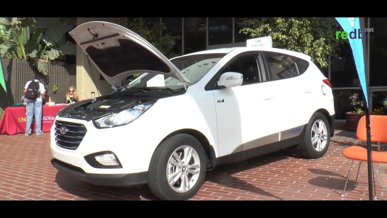 Hydrogen Car The Hyundai Tucson 2017 Fuel Cell Electric Vehicle