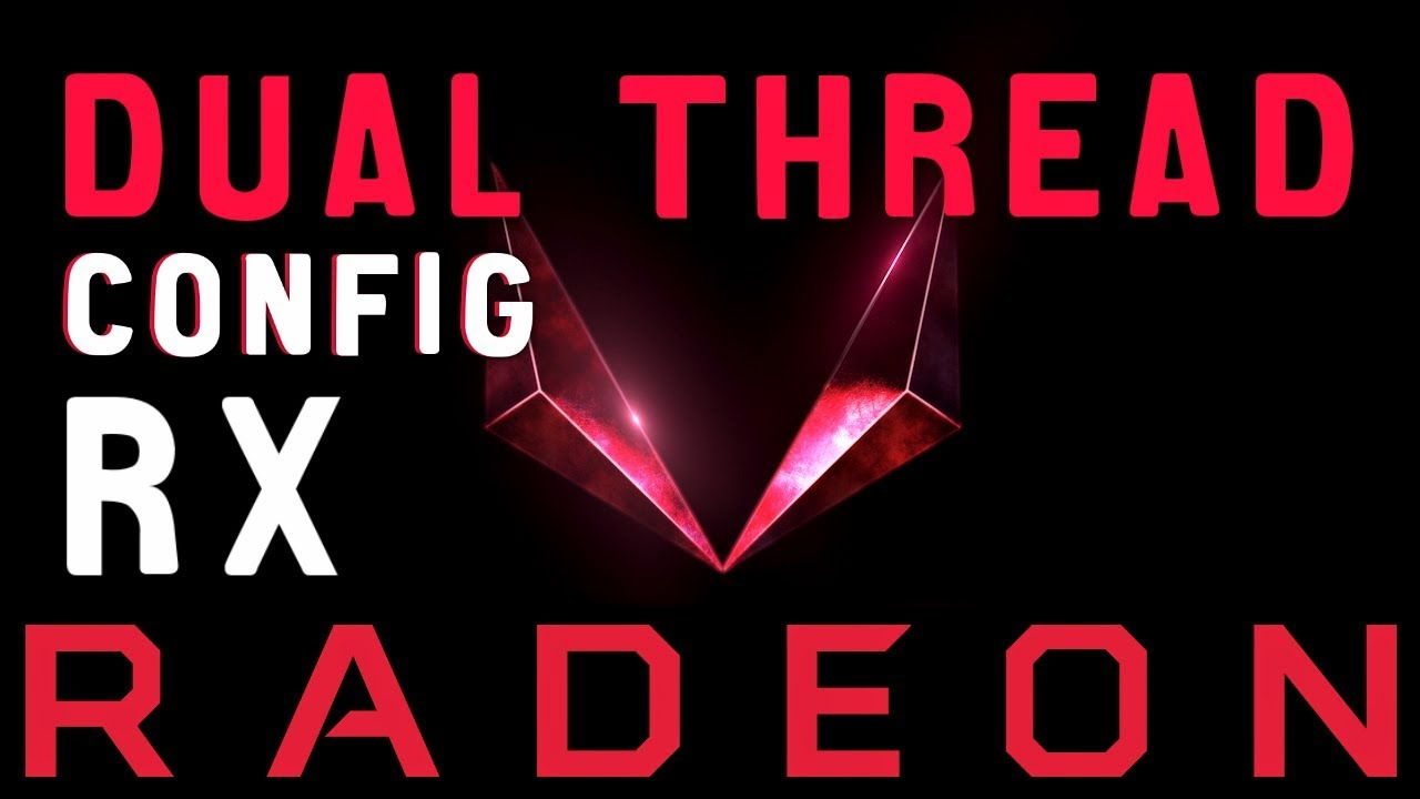 Dual Thread AMD RX Radeon GPU Mining Config by MD Interactive