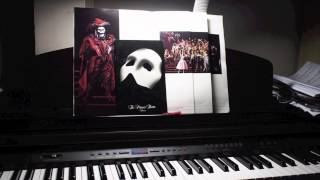 """Masquerade"" from Phantom Of The Opera - solo piano (HD)"