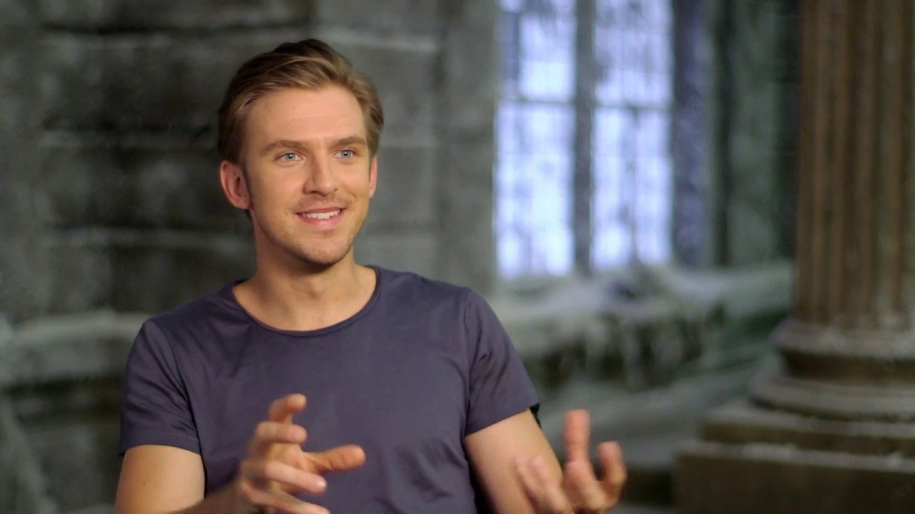 Beauty And The Beast Dan Stevens Official Movie Interview