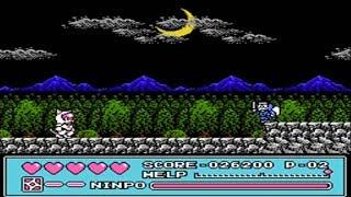 Samurai Pizza Cats Kyattou Ninden Teyandee Nes Famicom Full Playthrough No Death