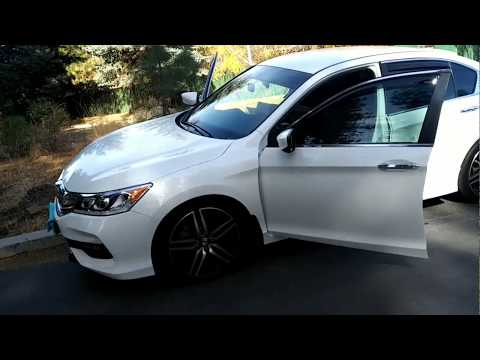 2017 Accord Sport Sedan - mounting the part with mufllers/removing the deleted mufflers part