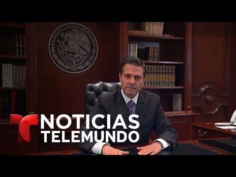 Respuesta de presidente Enrique Peña N. a medidas firmadas por Trump | Noticias | Noticias Telemundo