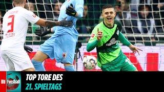 Rashica mit Raketen-Tor | Top Tore des 21. Spieltags