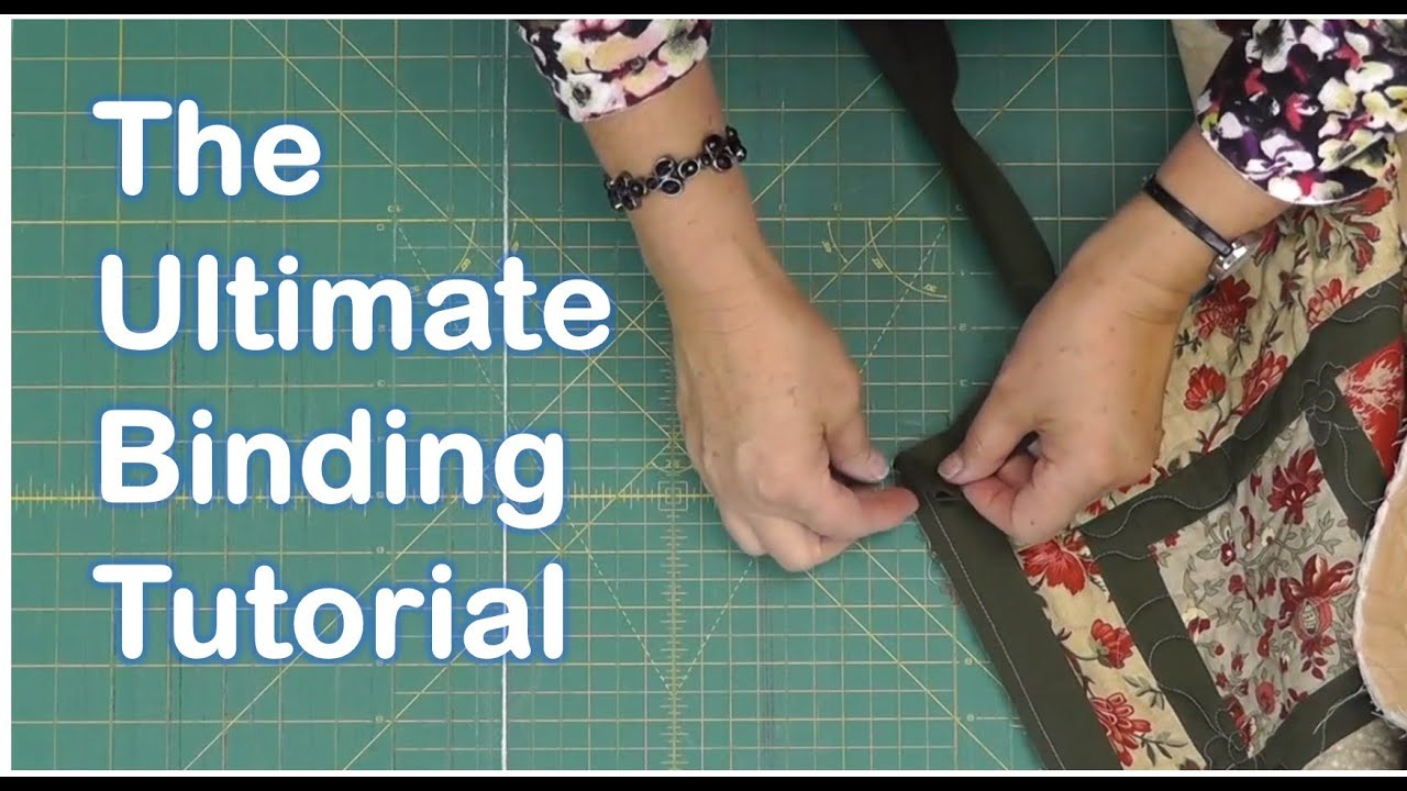 The Ultimate Quilt Binding Tutorial - YouTube : applying quilt binding - Adamdwight.com