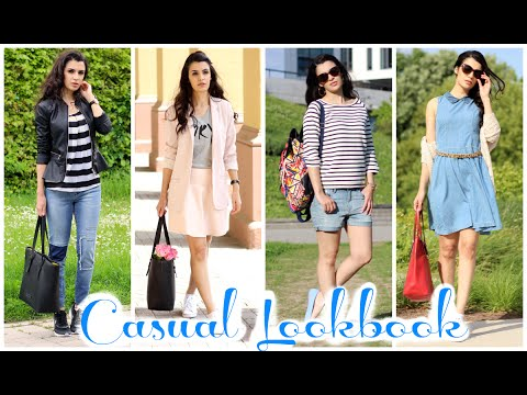casual spring summer lookbook 2015 outfits f r die schule kindofrosy youtube. Black Bedroom Furniture Sets. Home Design Ideas