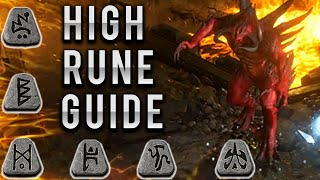 How to Farm HÏGH RUNES - Everything you need to know - Diablo 2 Resurrected