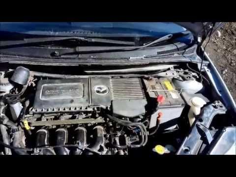 Чистка впускного коллектора, дроссельной заслонки Mazda demio/
