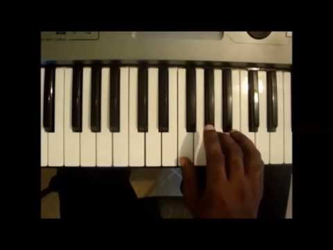 How To Play F Major Triad Chord On Piano And Keyboard Youtube