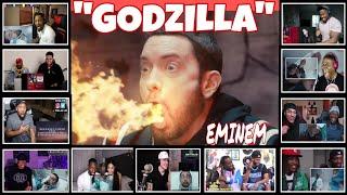 """EMINEM - GODZILLA"" FASTEST VERSE/ REACTION COMPILATION"