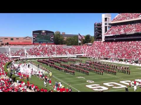BATTLE HYMN: Glory Glory To Old Georgia w/ Larry Munson and Trumpet Solo