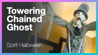 Spirit Halloween's Towering Chained Ghost Animatronic Decoration - Unboxing, Setup and Testing
