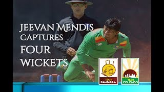 Jeevan Mendis's 4 wickets for Dambulla against Colombo