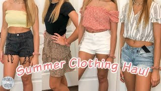 SUMMER CLOTHES TRY ON HAUL