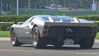 Ford GT40 Mk1 + Mk2 at Cars & Coffee Irvine thumbnail