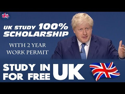Study in UK for Free | 100% Scholarship | Student Visa | Study Abroad 2020 | PR & Immigration