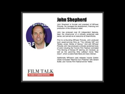 Film Talk interview with John Shepherd