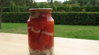 МАРИНОВАННЫЕ ПОМИДОРЫ домашние заготовки помидор