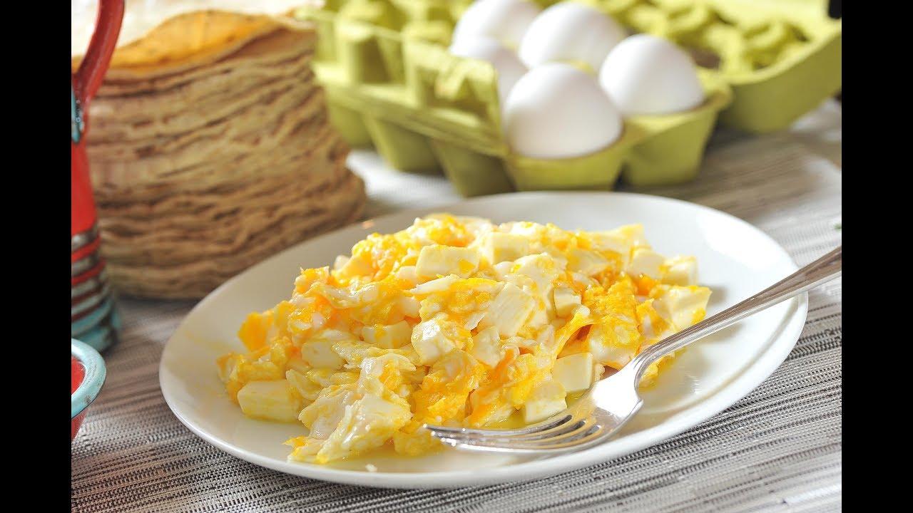 Desayunos con huevo - YouTube