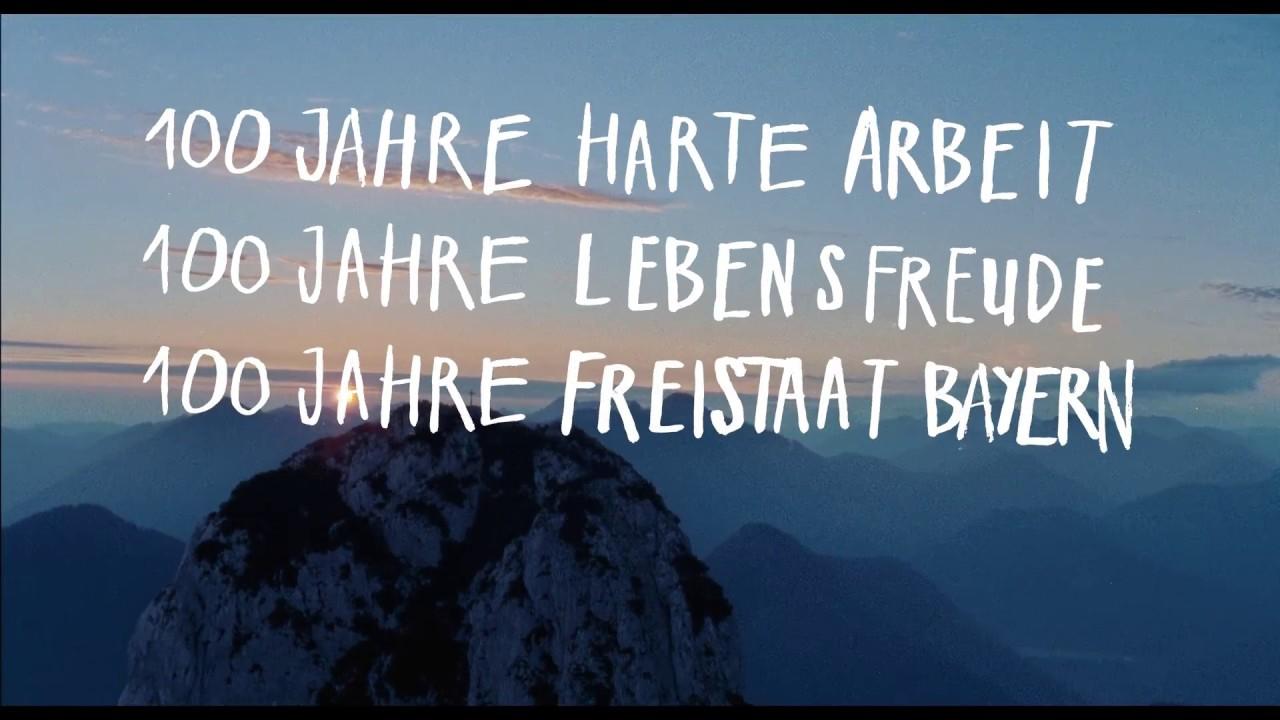Freistaat Bayern 100 Jahre