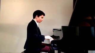 Kaan Baysal-Mozart Variations on a Minuet by Fischer in C major KV 179