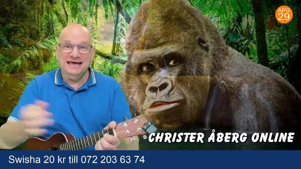 Live med Christer Åberg som sjunger kristna barnsånger för alla och stora barn!