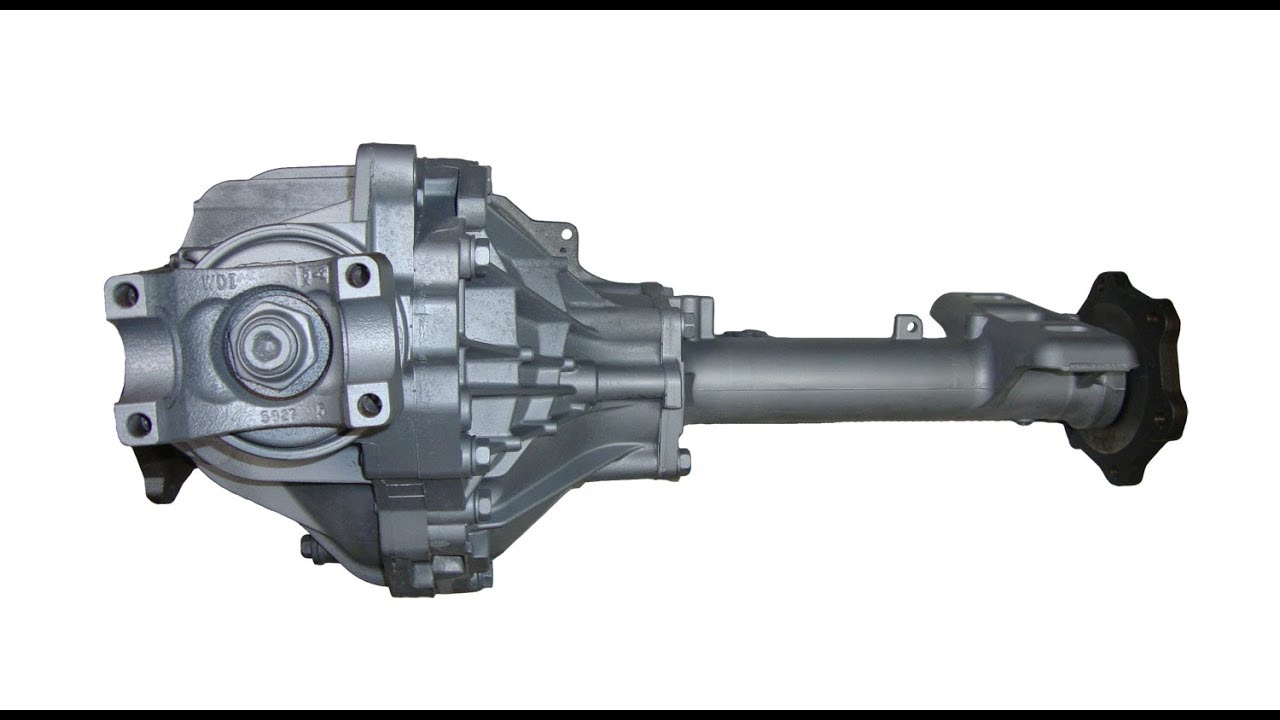 99-06 GMC/Chevy front differential gear change. - YouTube